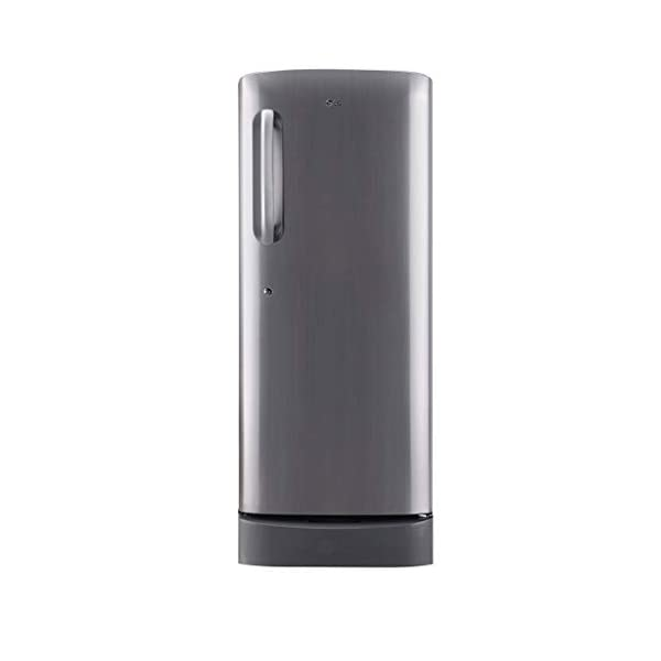 LG 235 L 3 Star Direct-Cool Single Door Refrigerator (GL-D241APZD, Shiny Steel, Base stand with Drawer) 2021 July Direct-cool refrigerator: Economical and Cooling without fluctuation Capacity 235 litres: Suitable for families with 2 to 3 members and bachelors Energy Rating: 3 Star