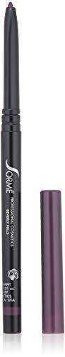 Sorme Cosmetics Truline Mechanical Eyeliner Pencil, Plum, 0.1 Ounce