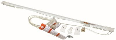 LEVOLOR DRAPERY HARDWARE 3025 25 LEVOLOR SUPERFINE TWO-WAY CENTER DRAW TRAVERSE ROD 48 IN. TO 86 IN. (1/EA)