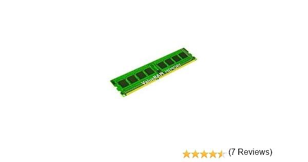 Memoria RAM 2 GB PC3-8500 DDR3-SD 1066 MHz, CL7, 240-pin, 2 GB Kingston ValueRAM KVR1066D3N7//2G