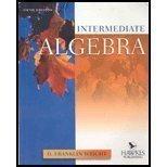 Intermediate Algebra, Franklin Wright and Anita Ganeri, 0918091802