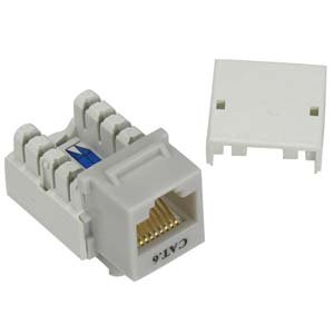 amazon com installerparts cat 6 rj45 110 type keystone jack gray rh amazon com