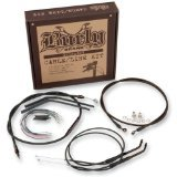 Burly B30-1020 Cable/Brake Line Kit for 18'' Height Apehanger Handlebars by Burly