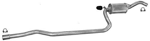 ETS-EXHAUST 50509 Silenziatore marmitta Centrale + kit di montaggio (pour FIESTA 1.1 1.3 HATCHBACK 50/60hp 1989-1996) ETS-SCARICO
