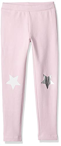 - LOOK by Crewcuts Girls' Cozy Legging, Orchid with Star, Small (6/7)