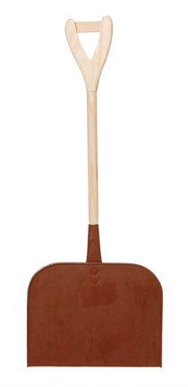 Rustic Wood Snow Shovel - 15.5 inches