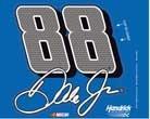 "NASCAR Dale Earnhardt Jr WCR88272015 Multi-Use Decal, 4.5"" x 5.75"""