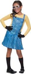 [Minions Movies: Female Minion Child Costume - Small (4-6) PROD-ID : 1918571] (Child Female Minion Costumes)