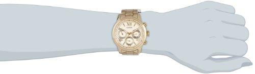 Guess-W0330L1-Reloj-de-cuarzo-para-mujer-con-correa-de-acero-inoxidable-color-dorado