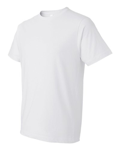 Anvil 980 Adult Lightweight Tee - White, XL