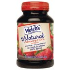 Welch's Natural Strawberry Jelly 27 OZ (Pack of 12)
