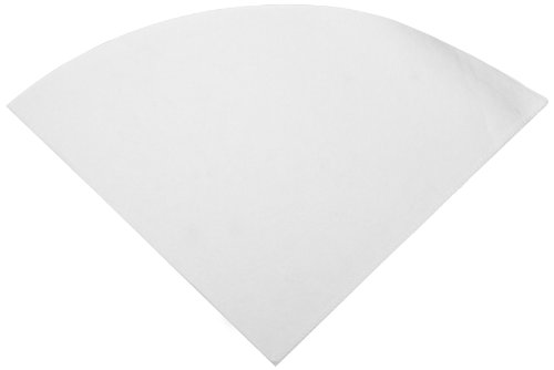 Cleaner Continental - Continental FC103 Shortening-Sieve Filter Cone, 10oz, White, 50/Bag (Case of 10)