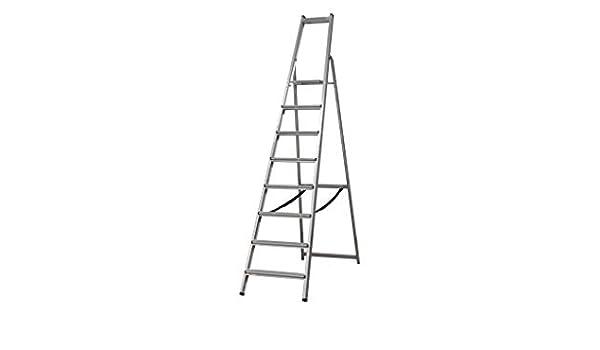 COFAN - Escalera reforzada 8 peldaños: Amazon.es: Bricolaje y herramientas