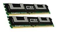 T6320 Server - Kingston KTS-SESK2/16G DDR2 - 16 GB : 2 x 8 GB - FB-DIMM 240-pin - 667 MHz / PC2-5300 - 1.8 V - fully buffered - ECC - for Sun Blade T6320 Server Module, SPARC Enterprise T5120, T5140, T5220, T5240, T5440