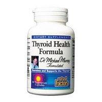Natural Factors Formule thyroïde Santé Veg-Capsules, 60-Count