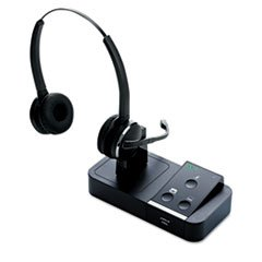 Pro 9450 Binaural Over The Head Wireless Headset by Jabra
