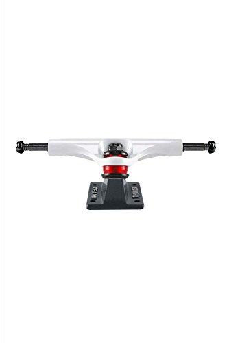 Thunder 147 HI Aftershock White Grey Skateboard Trucks - Hi 147 Skateboard Trucks