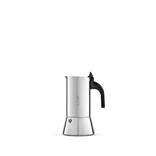 Bialetti Venus 2 (Italian Espresso Size Cups) Stainless Steel Espresso Maker