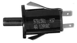 9781581 RANGE OVEN DOOR LIGHT SWITCH FOR WHIRLPOOL - Oven Light Switch