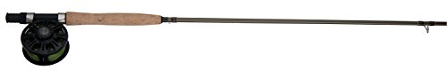 Shakespeare WILDFLY925WT5 Wild Series Spinning Fly Combo (3-Piece), 9-Feet (Fly Shakespeare Rod Fishing)