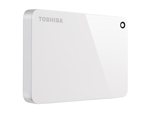 (Toshiba Canvio Advance 1TB Portable External Hard Drive USB 3.0, White (HDTC910XW3AA))