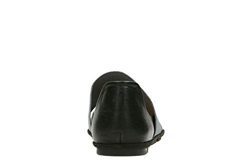 Clarks Casual Mujer Zapatos Sokola Sun En Piel Negro