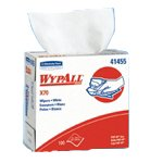 Wypall X70 White Wipes, 9'' X 16.8'', Pop-Up Box, 100 Wipes/Box, 10 Box/Case