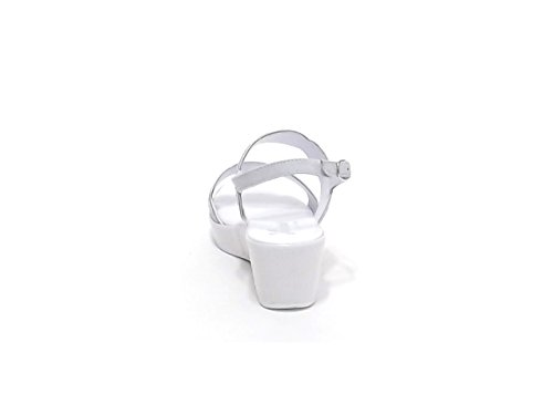 Susimoda , Damen Sandalen weiß Bianco