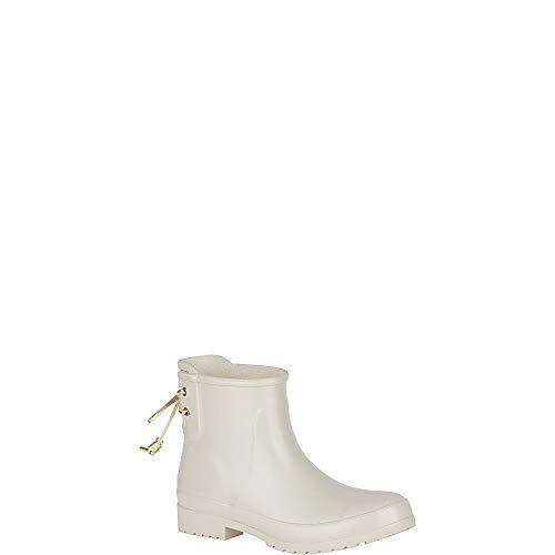 - SPERRY Women's Walker Turf Rain Boot, Ivory, 9 M US