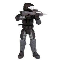 Halo 2 Action Figure Series 4 Marine Orbital Drop Shock Trooper (Halo 2 Series 4 Figure)