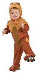 [COWARDLY LION NEWBORN 0-6 MOS] (Newborn Lion Costume 0-3 Months)