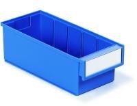 Sovella 3015-6 Shelf Bin, 11.81'' D x 5.19'' W x 3.93'' H, Blue