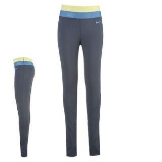 Nike women s pro hyperwarm series running tights 485380 437 (X-Large) Blue 864d25edab