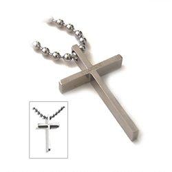 Amazon accents kingdom titanium cross pendant necklace amazon accents kingdom titanium cross pendant necklace carbon fiber jewelry aloadofball Images