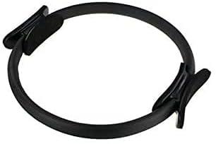ZHZHUANG Pilates Ring,Yoga Circle Slimming Pilate Ring Fitness Professional Training Ring Women Gym Training Pilates Accessories Pilates Ring Black