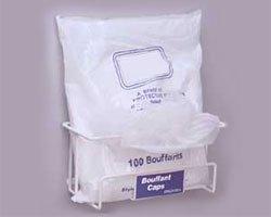 - Horizon 4020 Hair Net/Bouffant/Beard Cover Wire Dispenser Rack, 12-1/4