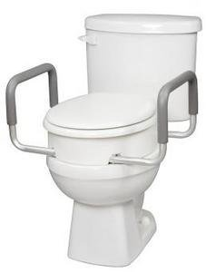 Toilet Seat Elevator with Handles Elongated B316-00