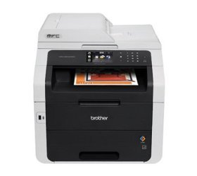 Brother MFC-9340CDW All-in-One Wireless Digital Color Printer, 23ppm Black/Color, 600x2400dpi, 250 Sheet Paper Capacity, USB 2.0 - Print, Copy, Scan, Fax
