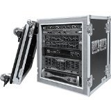 Road Ready RR12UADSW 12U Amplifier Deluxe Case with 18 Inch Shock Mount