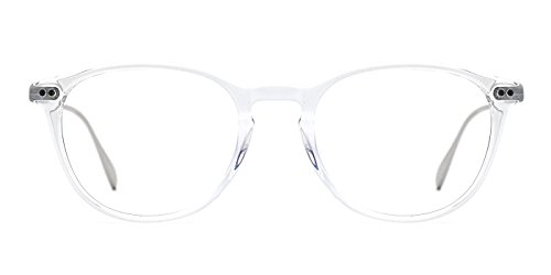 TIJN Sophisticated Wayfarer Frame Optical Keyhole - Glasses Sophisticated