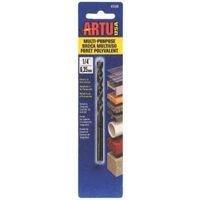 Artu Cobalt Multi Purpose Drill Bit Concrete, Percussion 1/4