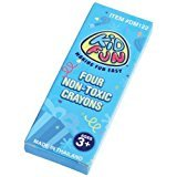 4-Pack Kid Fun Crayons - 72 packs