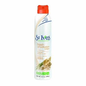 St. Ives Lotion Spray, Soothing Oatmeal & Shea Butter 6.5 oz (184 g)