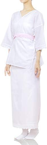[キョウエツ] 肌着 肌襦袢 和装下着 3点セット(肌着、裾除け、福助足袋) レディース
