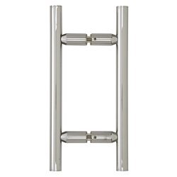CRL Chrome 6 inches Ladder Style Pull Handles ()