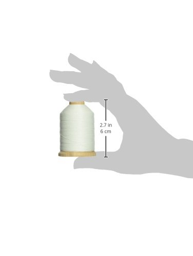 YLI 21100-WHT 3-Ply T-40 Cotton Hand Quilting Thread