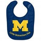 WinCraft NCAA University of Michigan WCRA1995113 All Pro Baby Bib