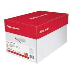 Office Depot Brand Copy & Print Paper, Ledger Paper, 20 Lb, 500 Sheets Per Ream, Case of 5 Reams
