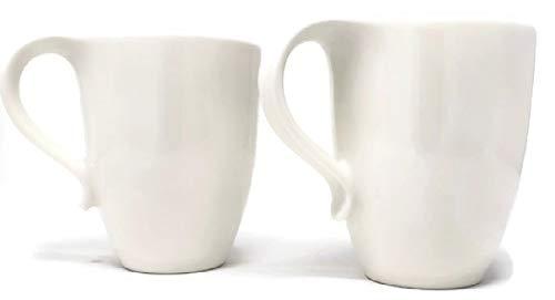 Market Street New York Corelle 15.5 Ounce Coffee/Tea Mugs Set of 2 Warm White