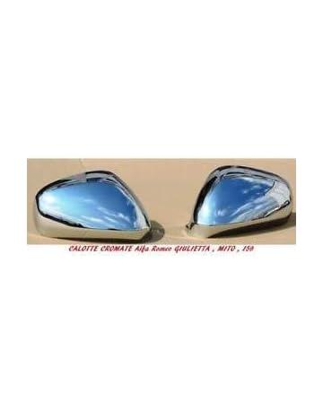 Cover sx+dx Calotte cromate specchi copri specchietti acciaio cromati Mini ONE